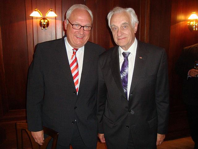 Christan Zahn und Günter Schäfer