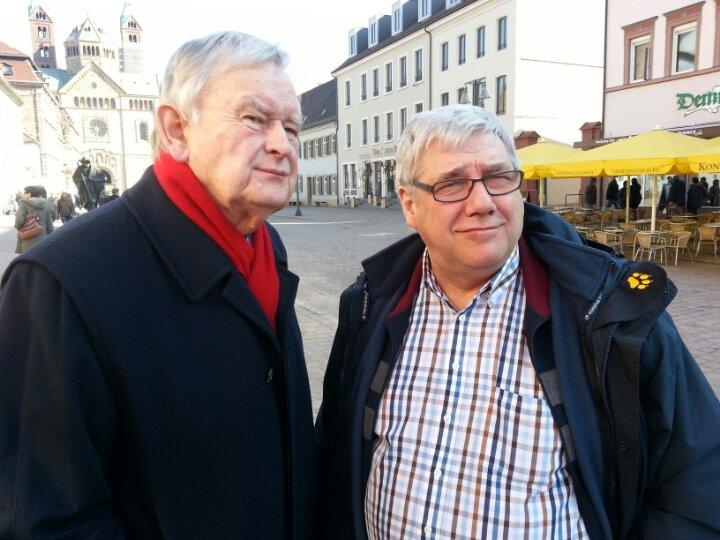 Herbert Neumann und Werner Veen - BfA-Gemeinschaft